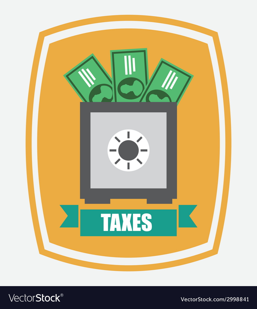 Taxes design vector | Price: 1 Credit (USD $1)