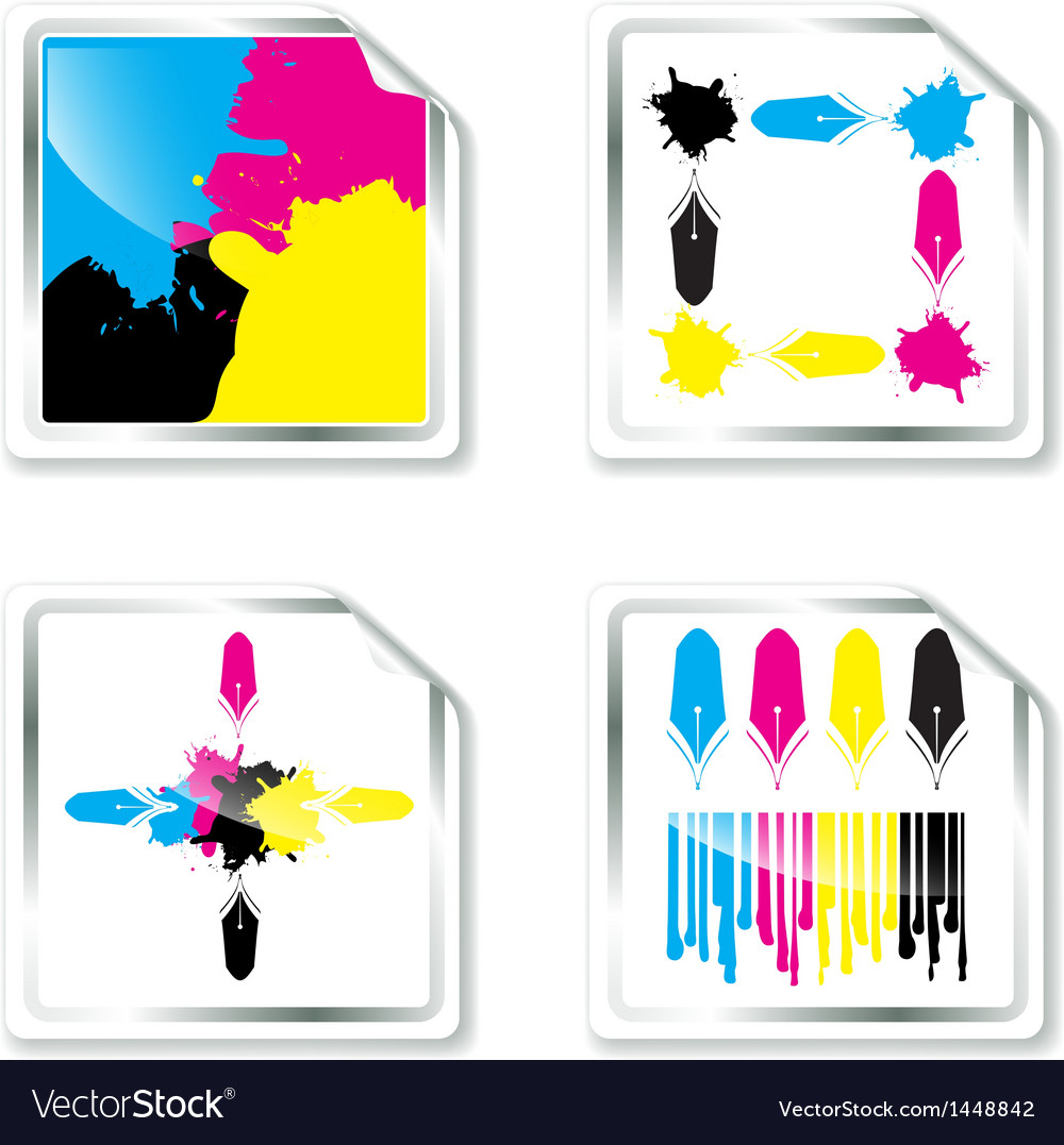Cmyk designs vector | Price: 1 Credit (USD $1)