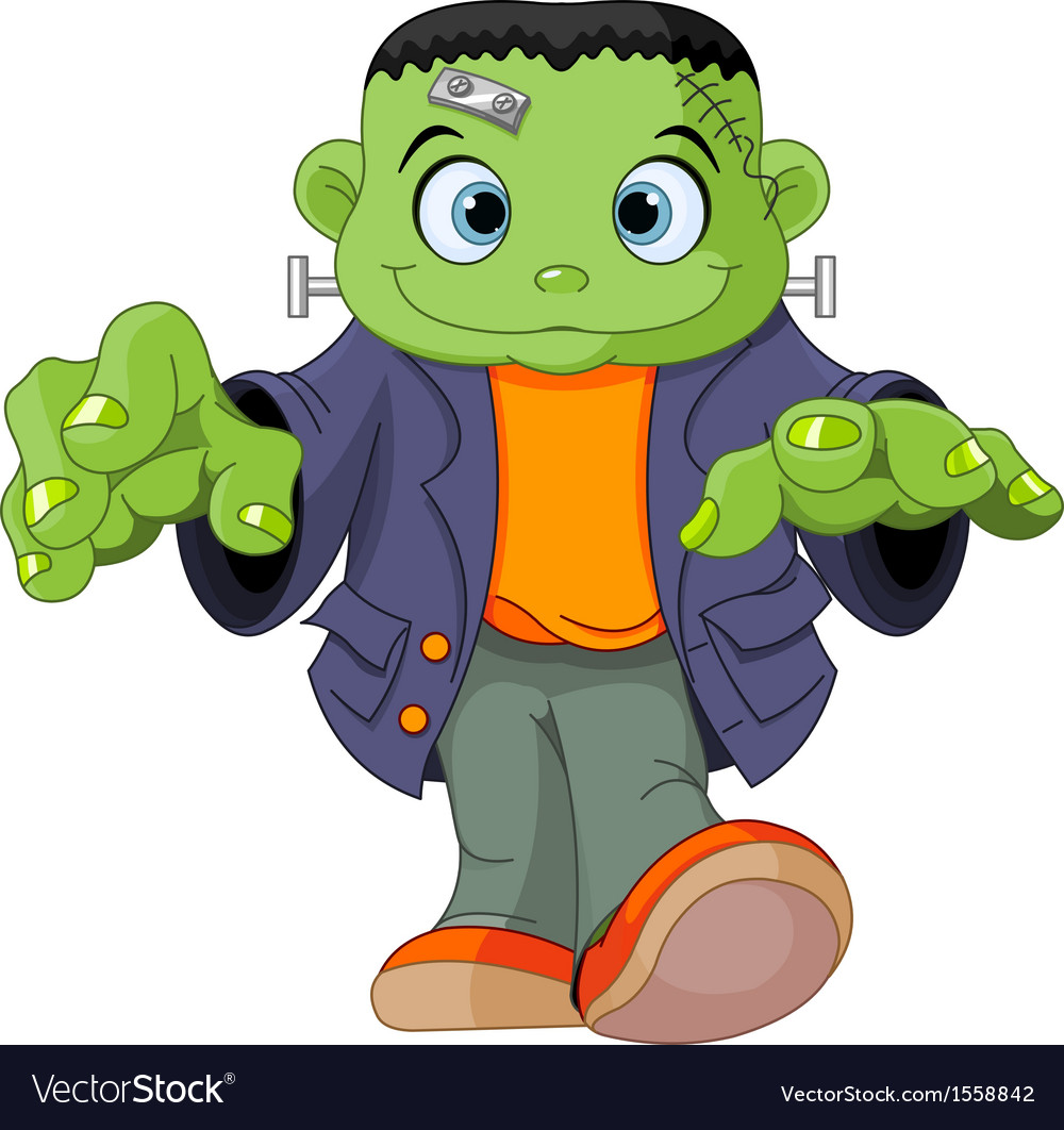 Frankenstein kid vector | Price: 1 Credit (USD $1)