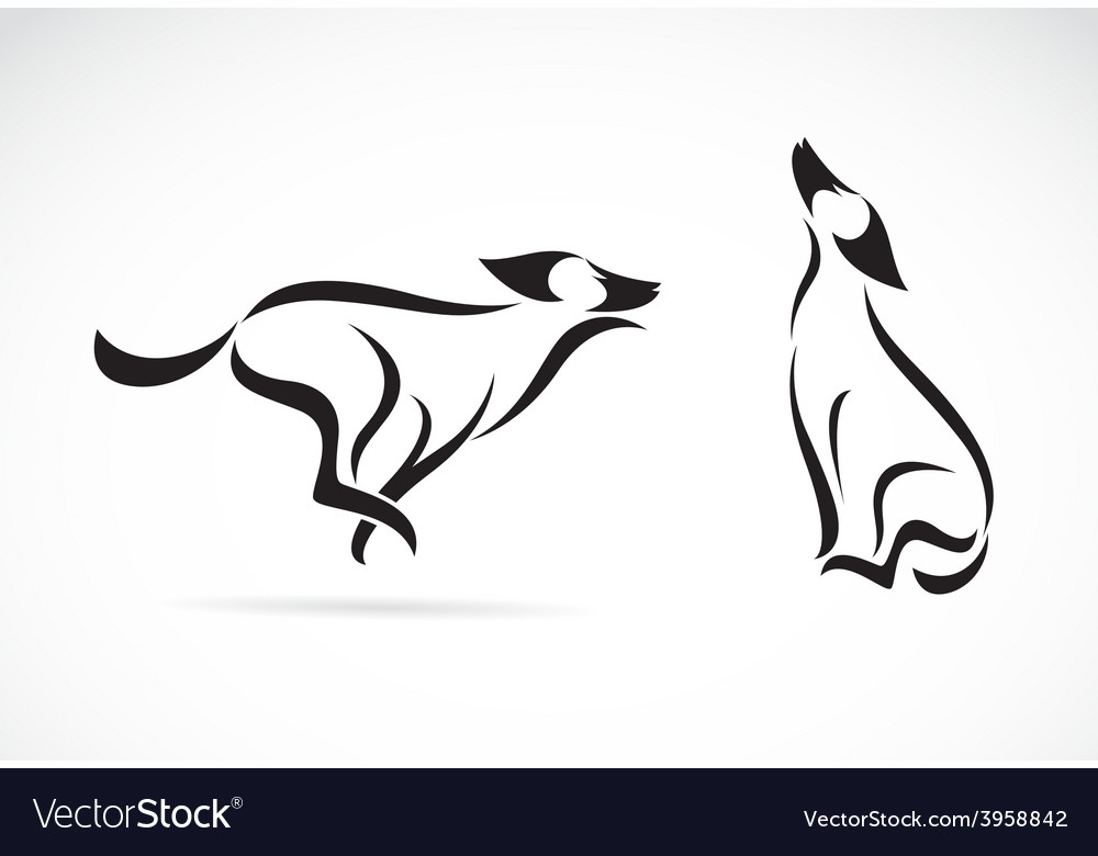 Image of an dog design vector   Price: 1 Credit (USD $1)