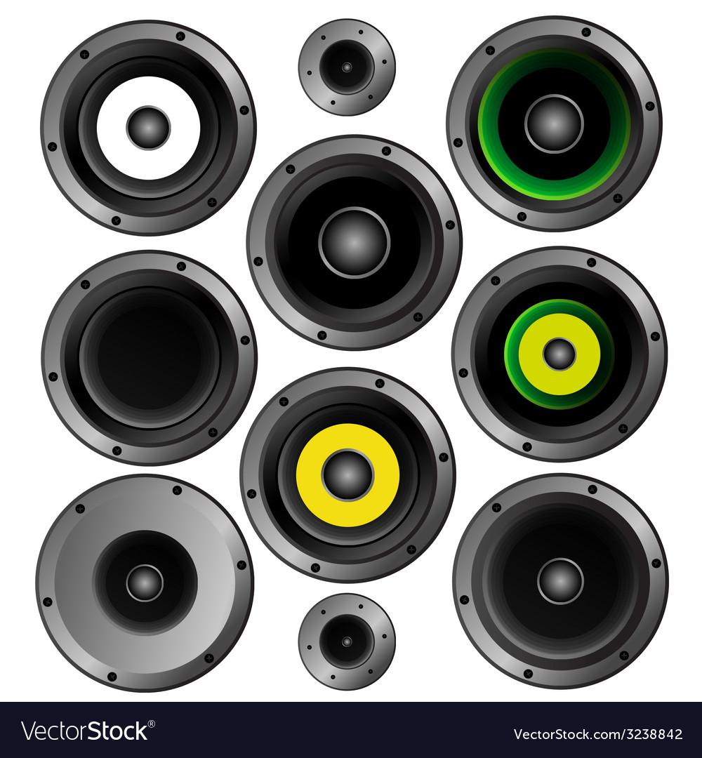 Music speaker vector | Price: 1 Credit (USD $1)