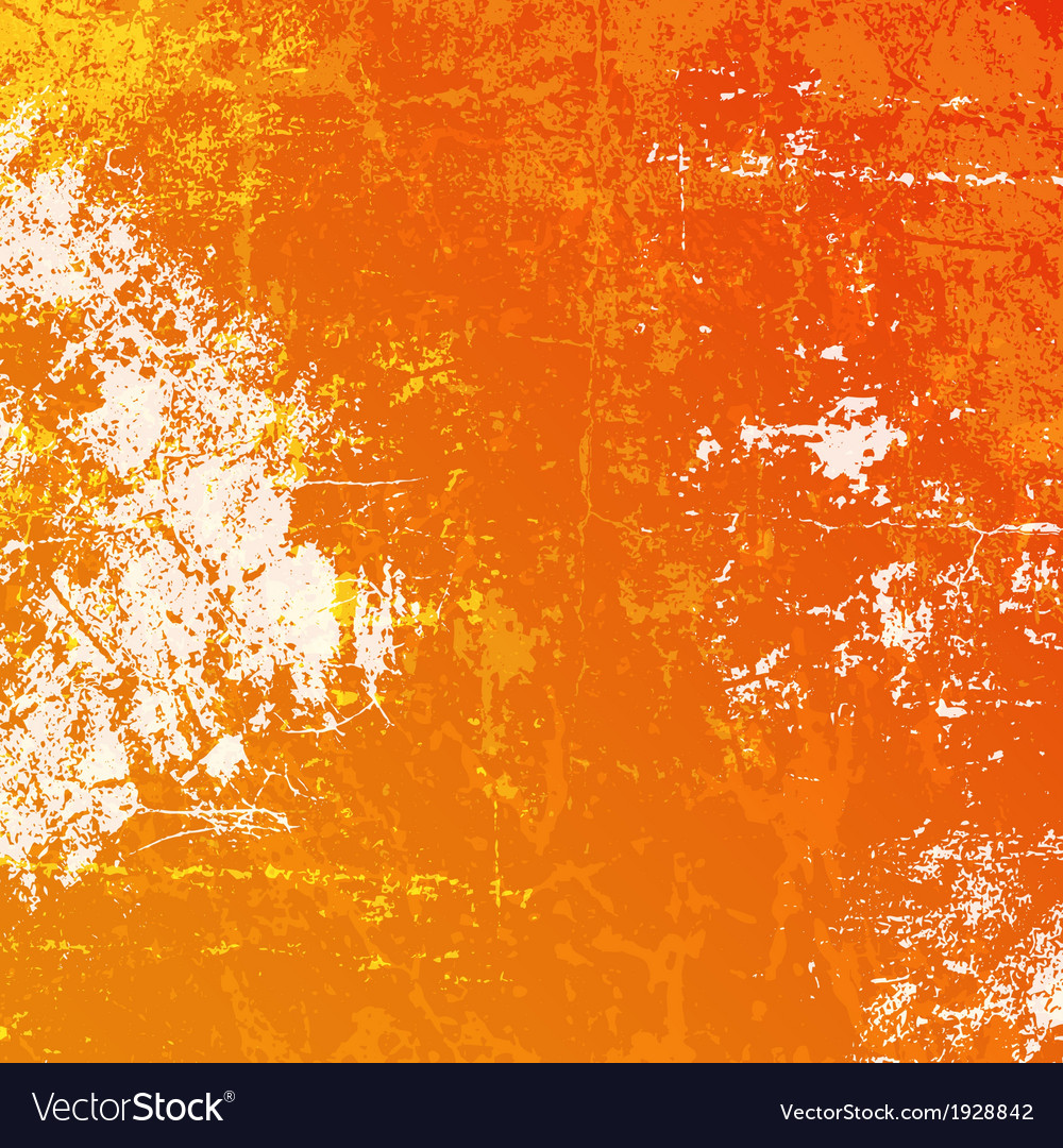 Orange grunge background vector | Price: 1 Credit (USD $1)