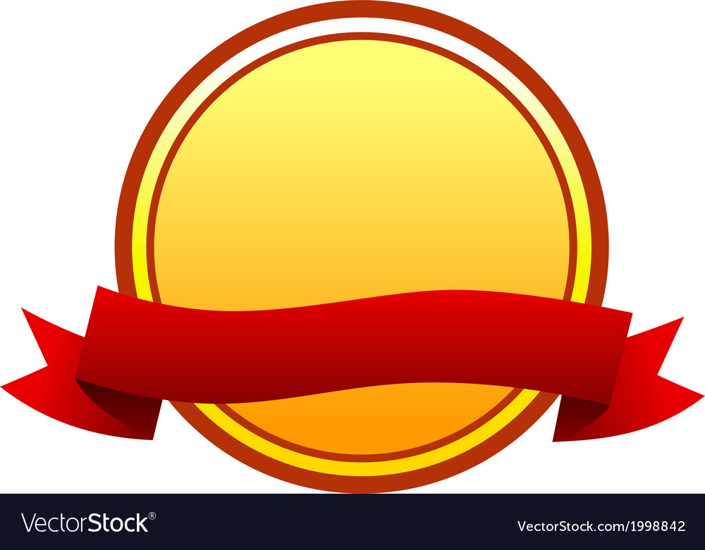 Round badge vector | Price: 1 Credit (USD $1)