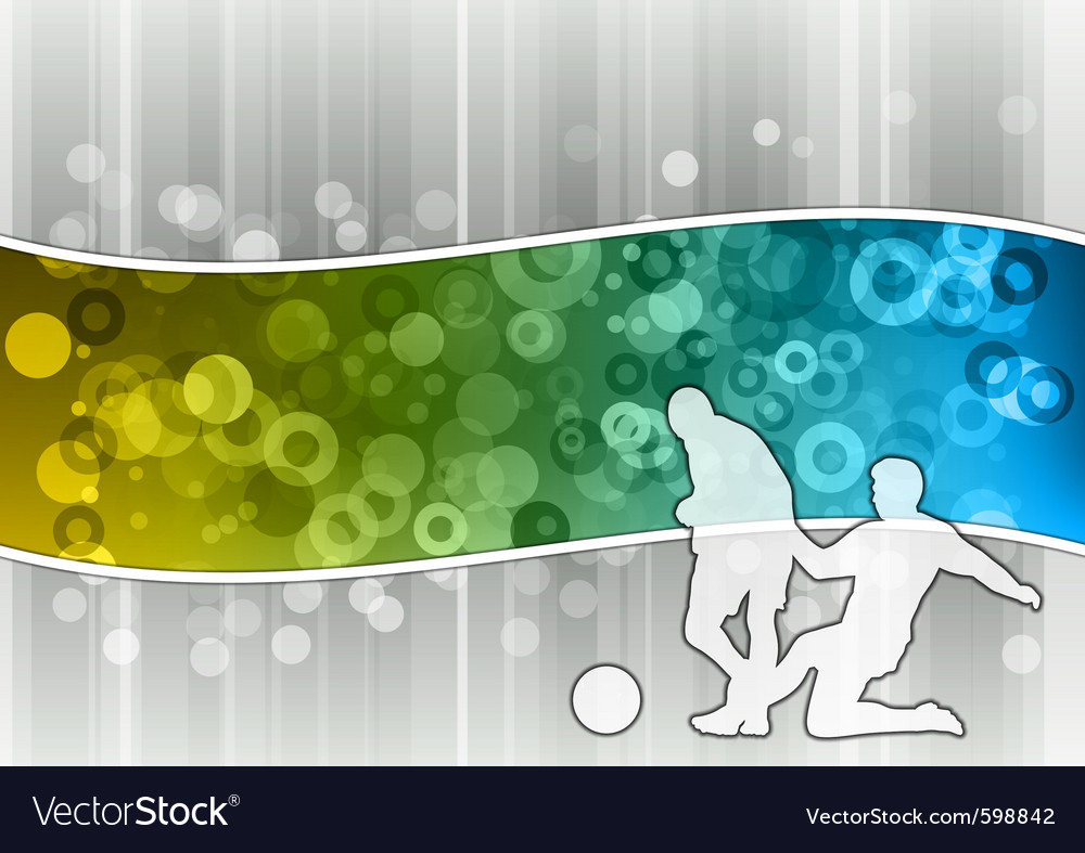 Soccer on the abstract wave vector | Price: 1 Credit (USD $1)