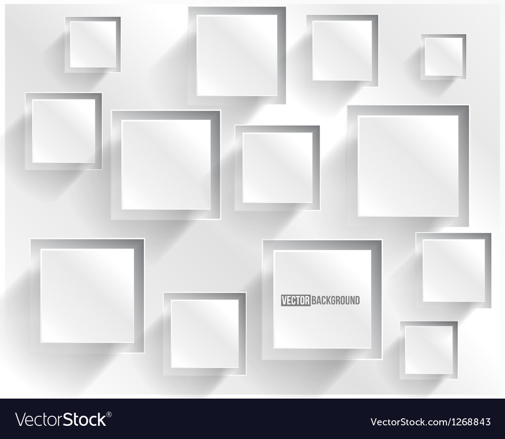 Abstract background square web design vector | Price: 1 Credit (USD $1)