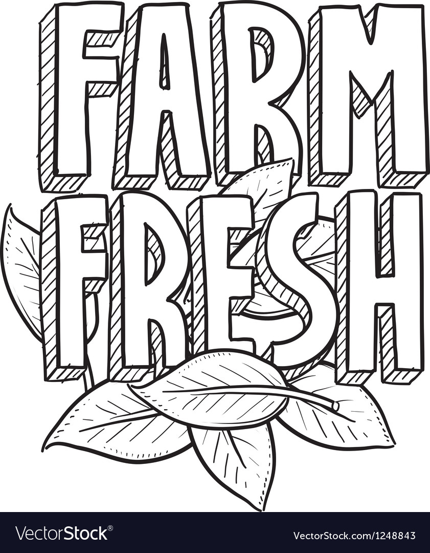 Farm fresh vector | Price: 1 Credit (USD $1)