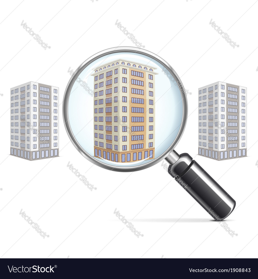 Living block with lens vector | Price: 1 Credit (USD $1)