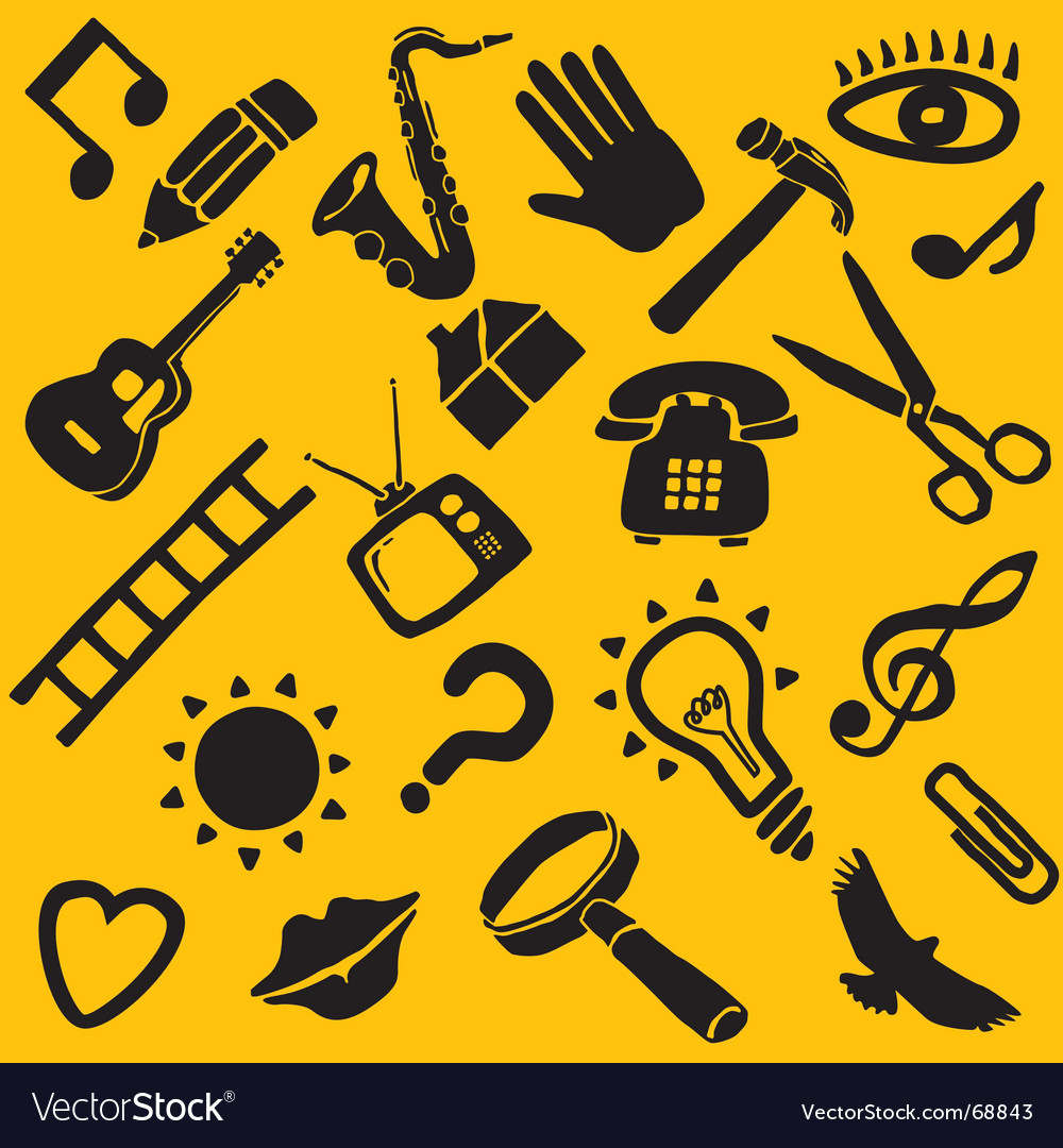 Objects vector | Price: 1 Credit (USD $1)