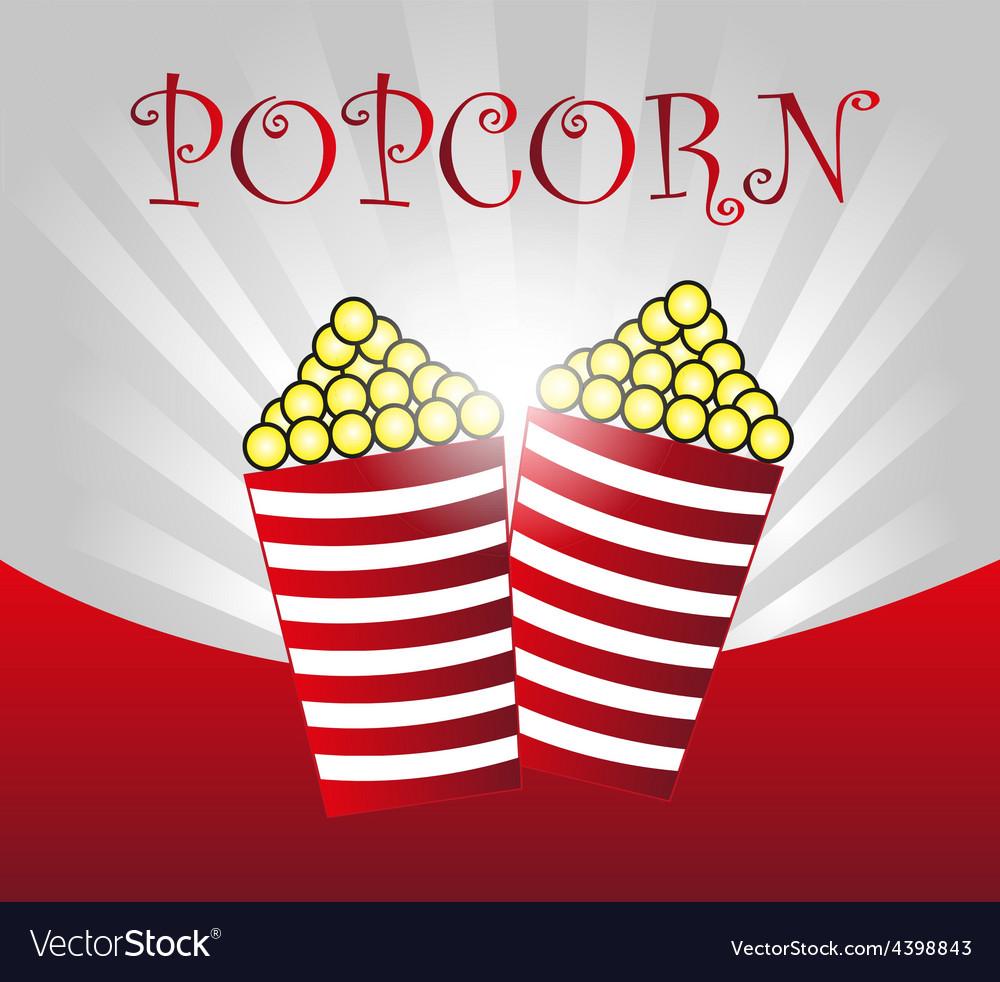 Popcorn background vector   Price: 3 Credit (USD $3)