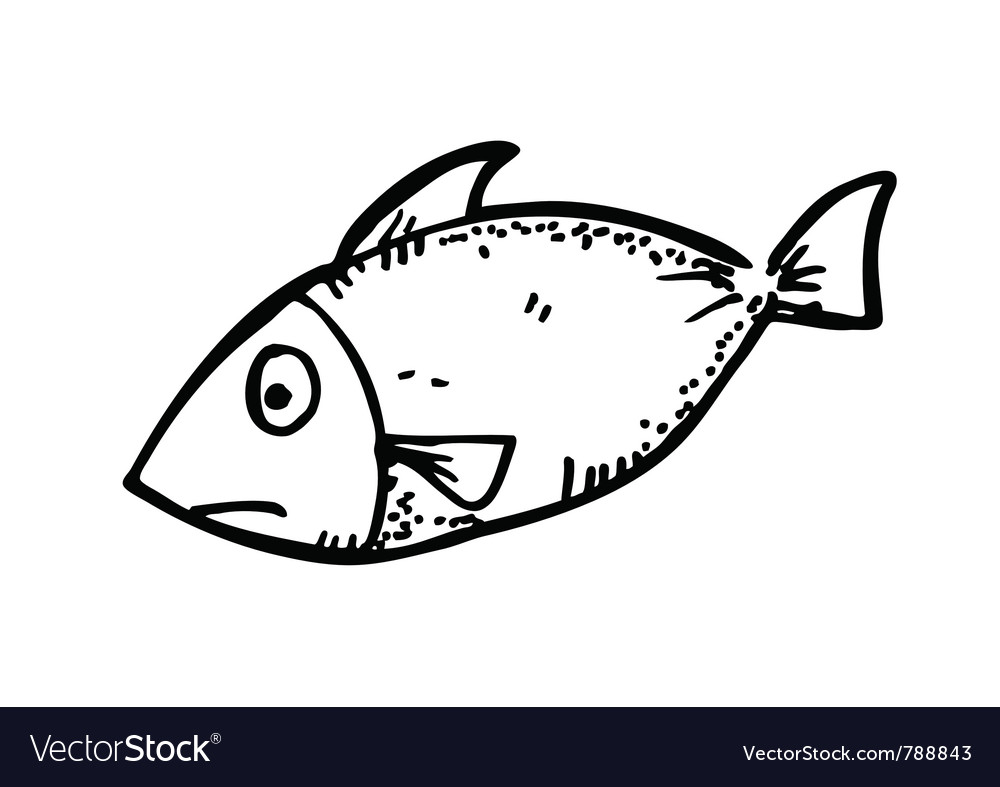 Raw fish meat vector | Price: 1 Credit (USD $1)