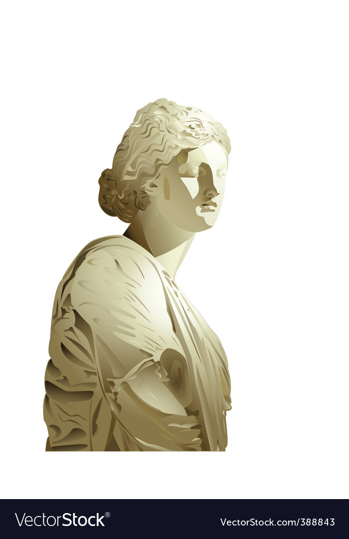 Statue vector | Price: 1 Credit (USD $1)