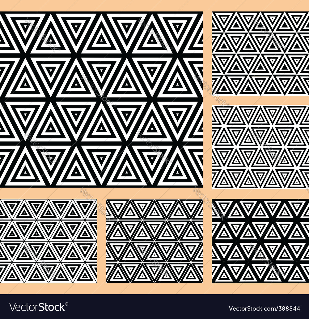 Geometric patterns set vector | Price: 1 Credit (USD $1)