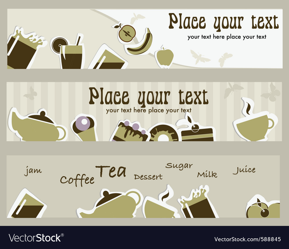 Coffee card vector | Price: 1 Credit (USD $1)