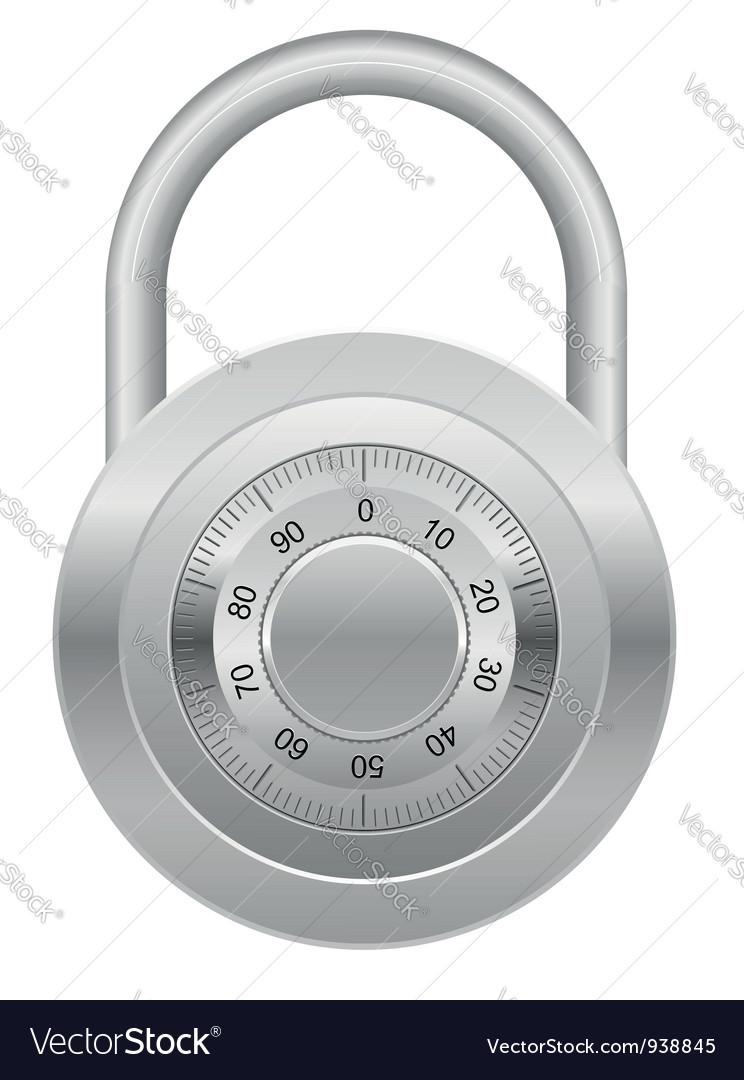 Combination lock 03 vector | Price: 1 Credit (USD $1)