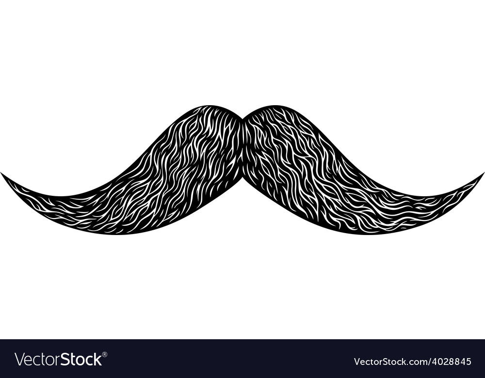 Mustache vector | Price: 1 Credit (USD $1)