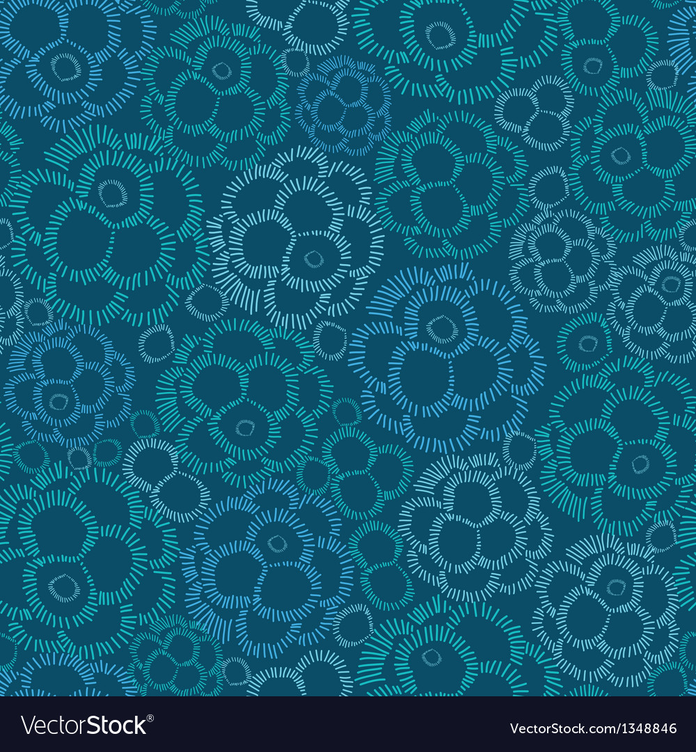 Abstract underwater plants seamless pattern vector | Price: 1 Credit (USD $1)