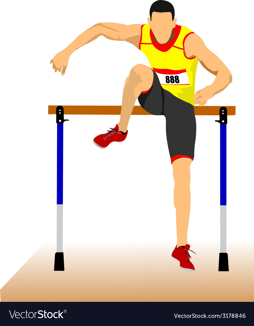 Al 1124 track and field 02 vector | Price: 1 Credit (USD $1)