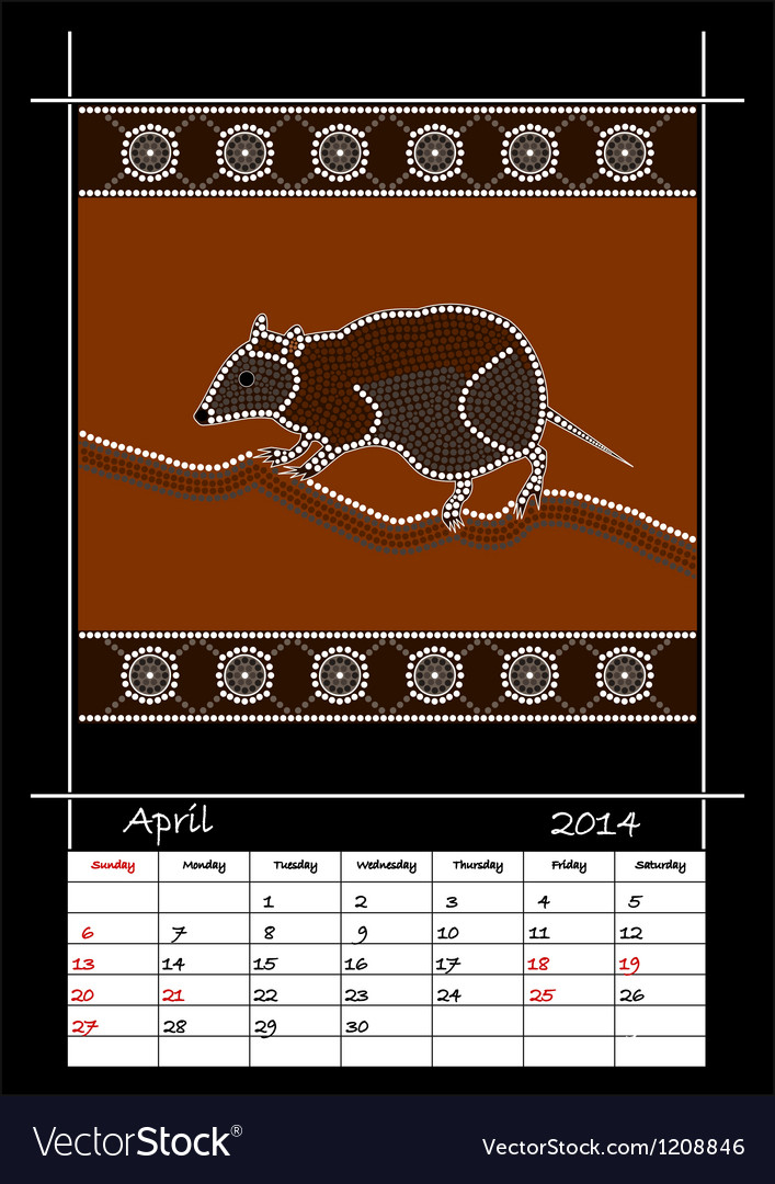 April 2014 - musky rat kangaroo vector | Price: 1 Credit (USD $1)
