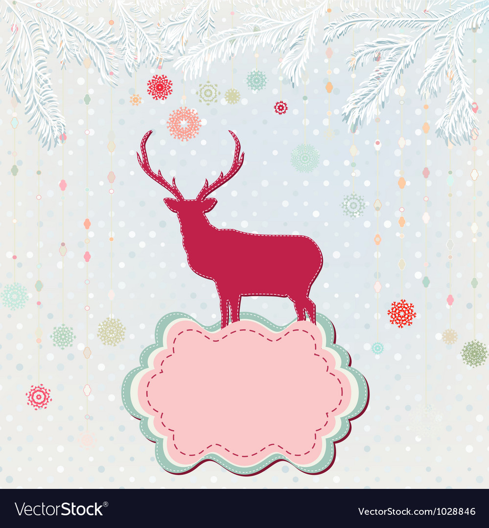 Christmas background card template eps 8 vector | Price: 1 Credit (USD $1)