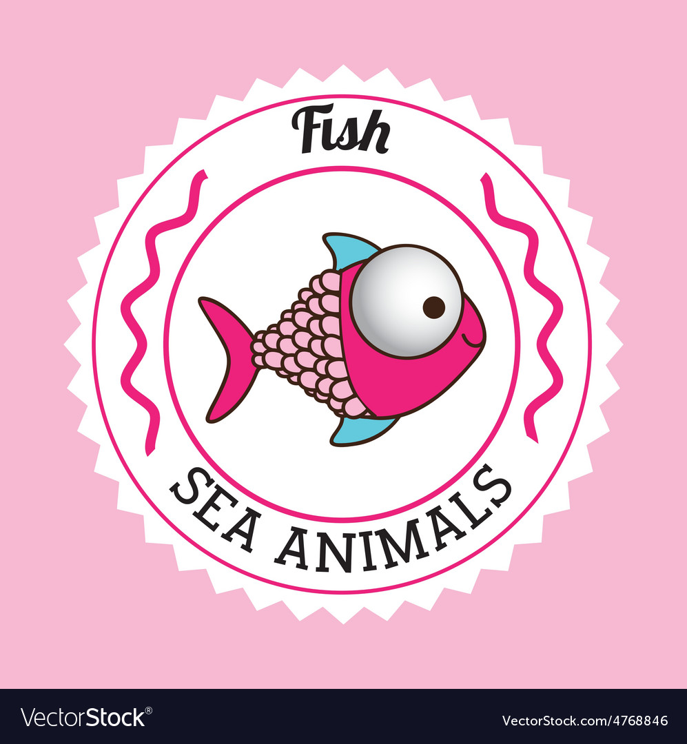 Fish design vector | Price: 1 Credit (USD $1)