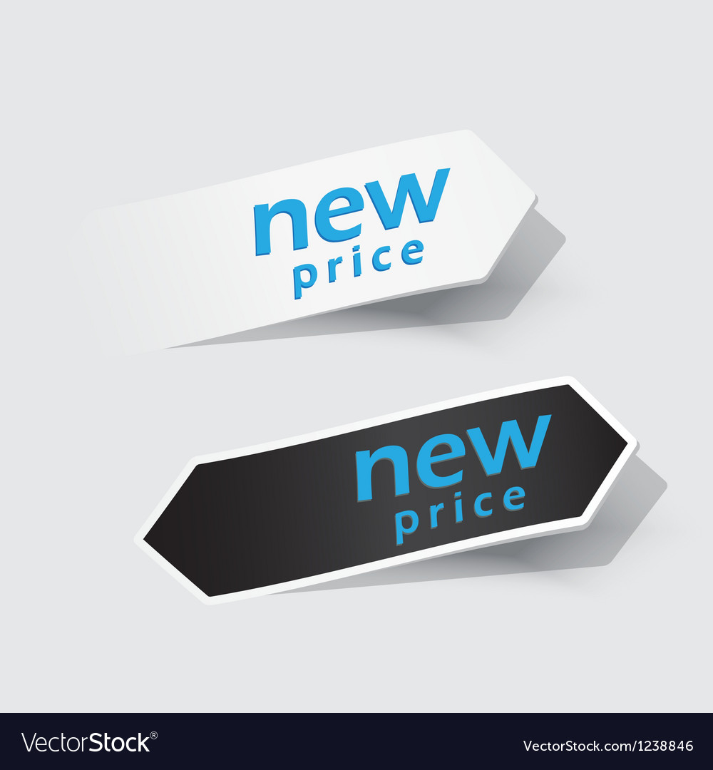New product label vector | Price: 1 Credit (USD $1)