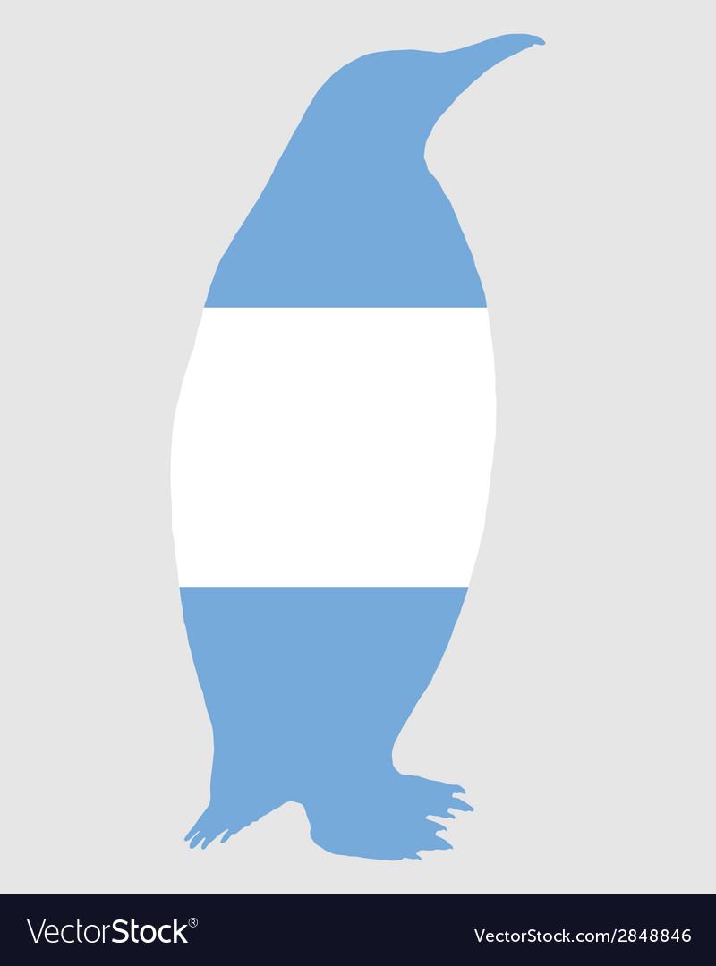 Penguin argentina vector | Price: 1 Credit (USD $1)