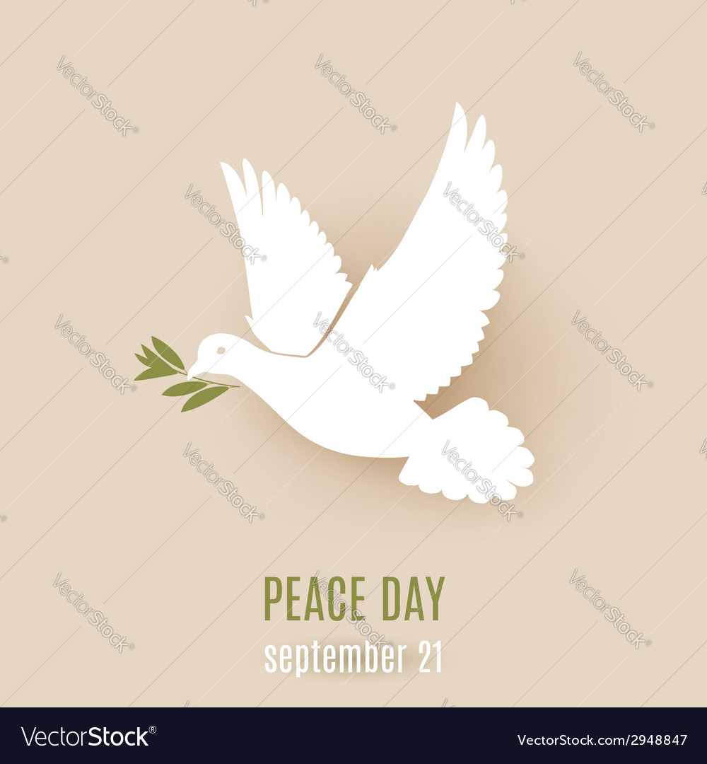 Dove of peace vector | Price: 1 Credit (USD $1)