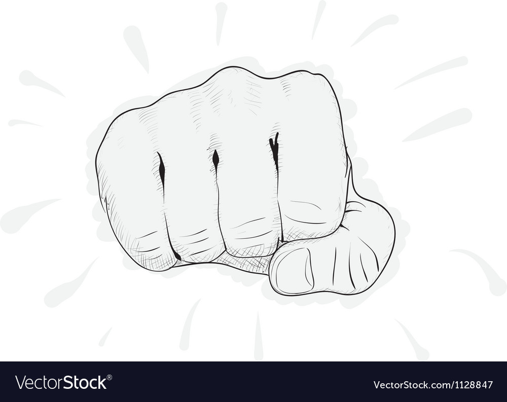 Fist punch vector | Price: 1 Credit (USD $1)
