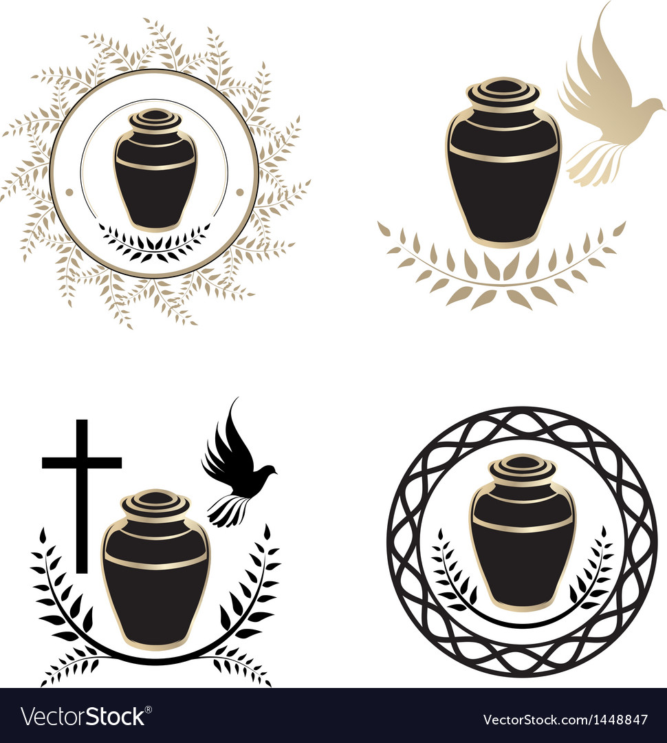 Urns vector | Price: 1 Credit (USD $1)