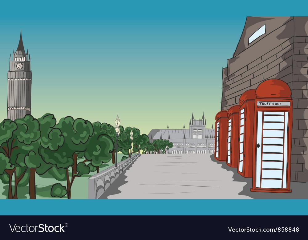 Cartoon background vector | Price: 1 Credit (USD $1)