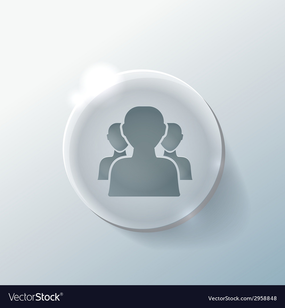 Silhouette of a men social media vector | Price: 1 Credit (USD $1)