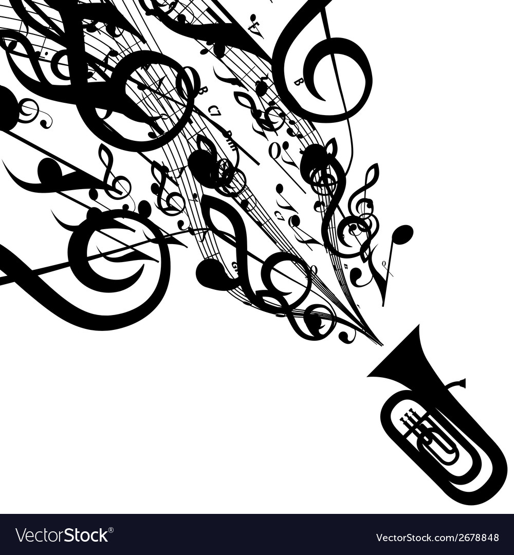 Tuba vector | Price: 1 Credit (USD $1)