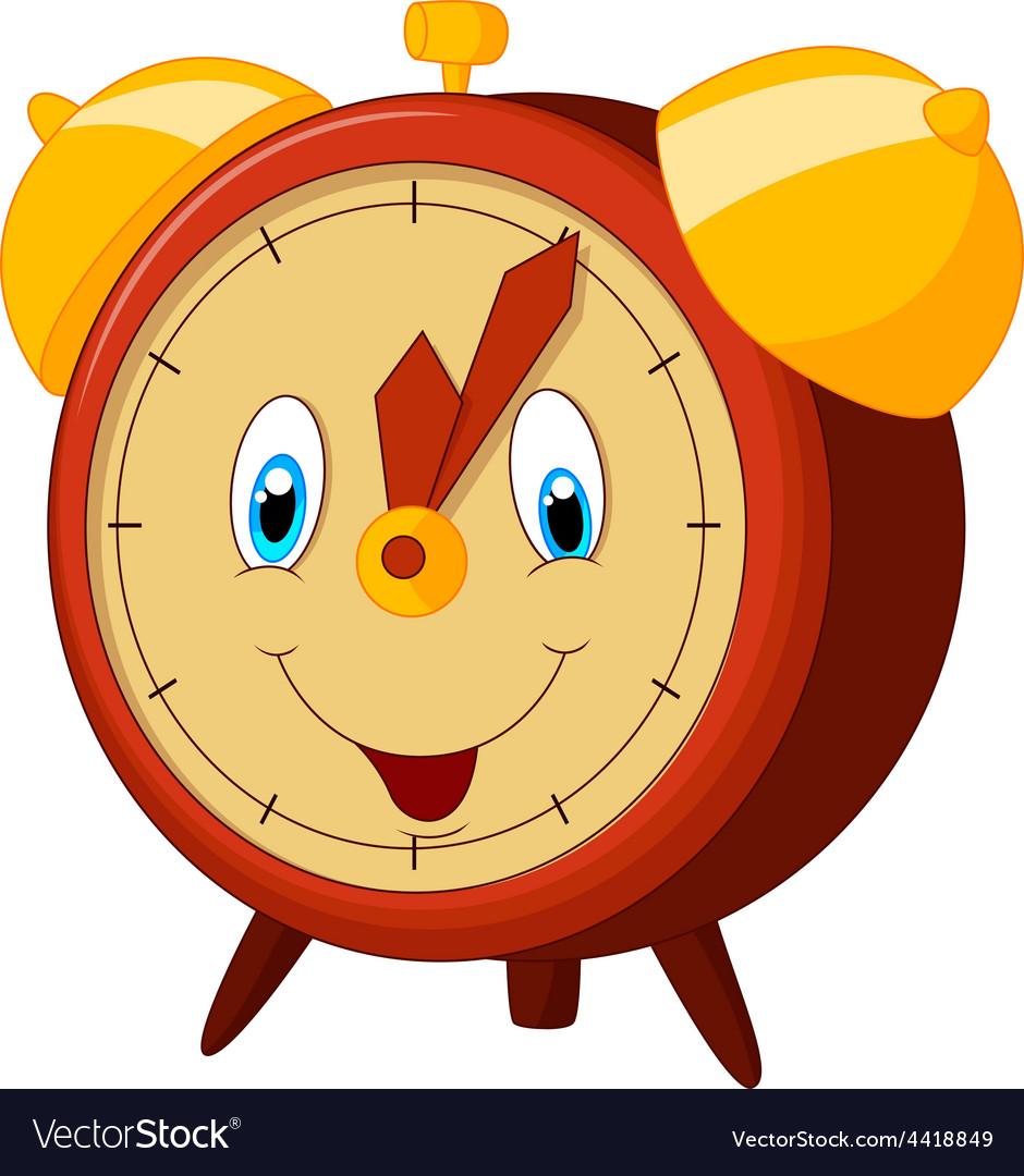 Cartoon alarm clock vector | Price: 1 Credit (USD $1)