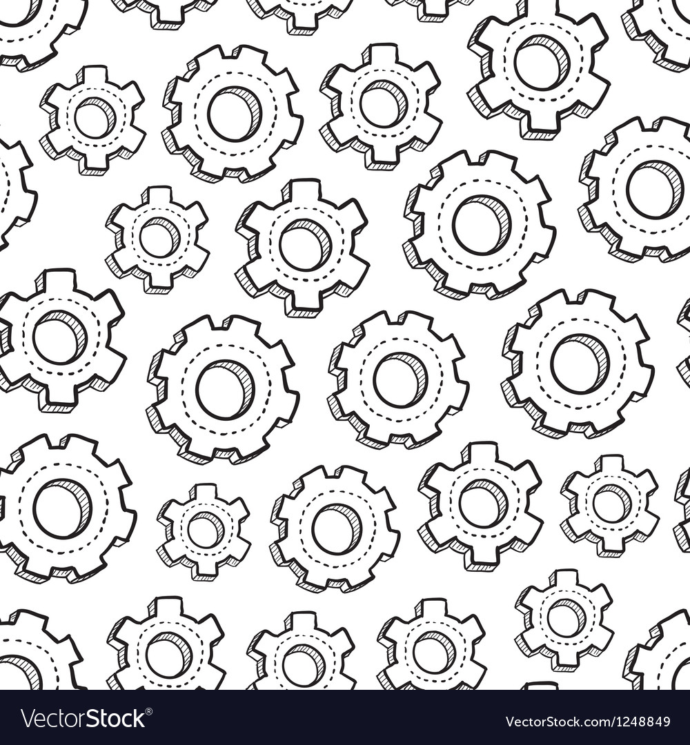 Gears pattern vector | Price: 1 Credit (USD $1)