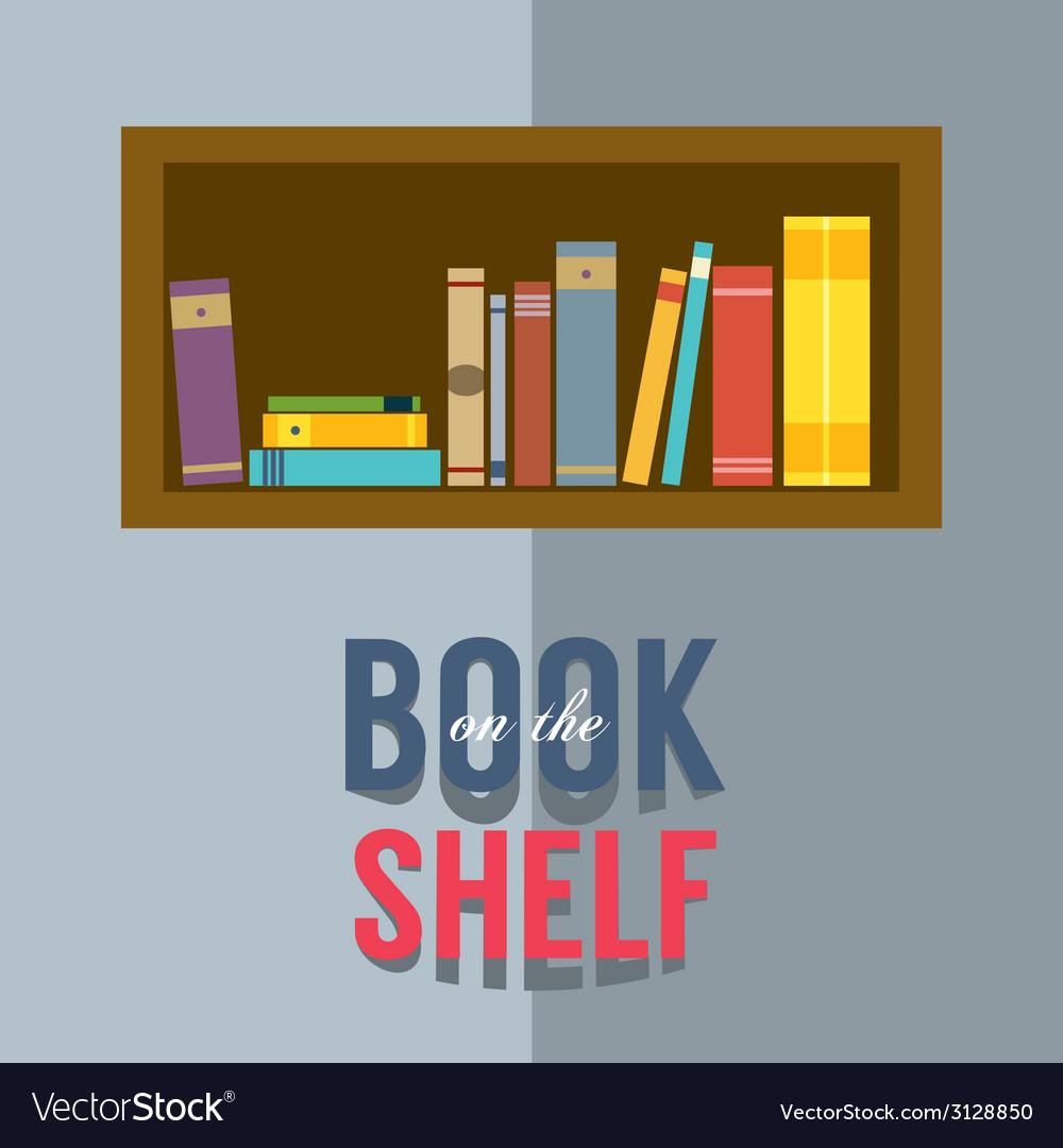 Bookshelf graphic vector   Price: 1 Credit (USD $1)