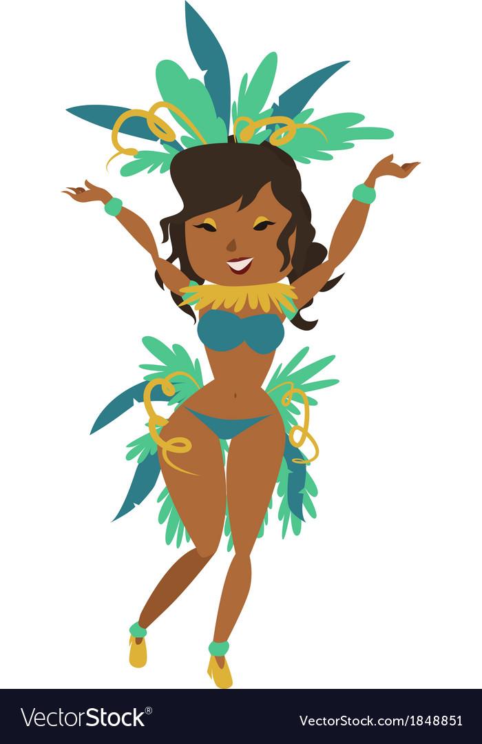 Brazilian carnival vector | Price: 1 Credit (USD $1)