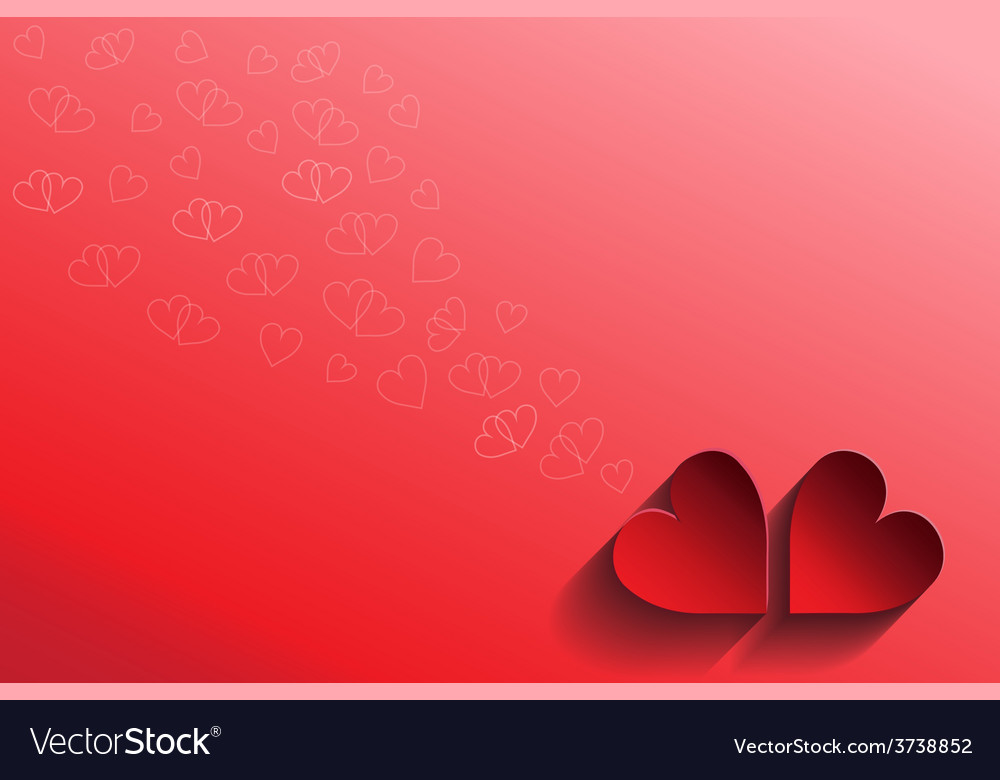 Abstract love card valentine vector | Price: 1 Credit (USD $1)