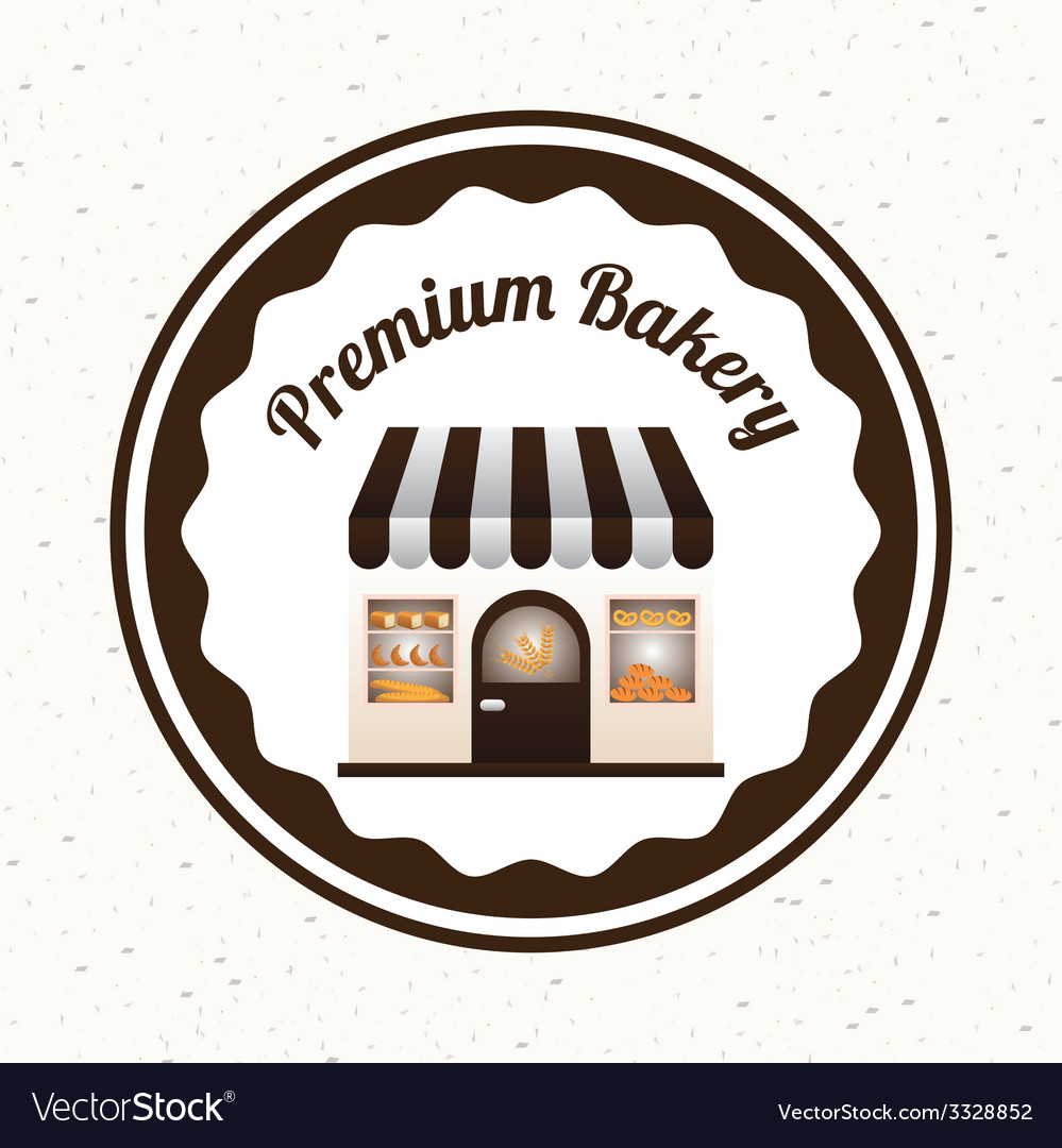 Bakery design vector | Price: 1 Credit (USD $1)