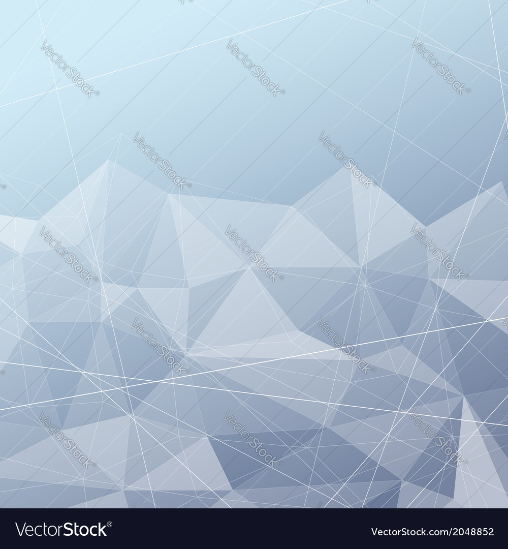 Crystal structured modern blue background vector | Price: 1 Credit (USD $1)