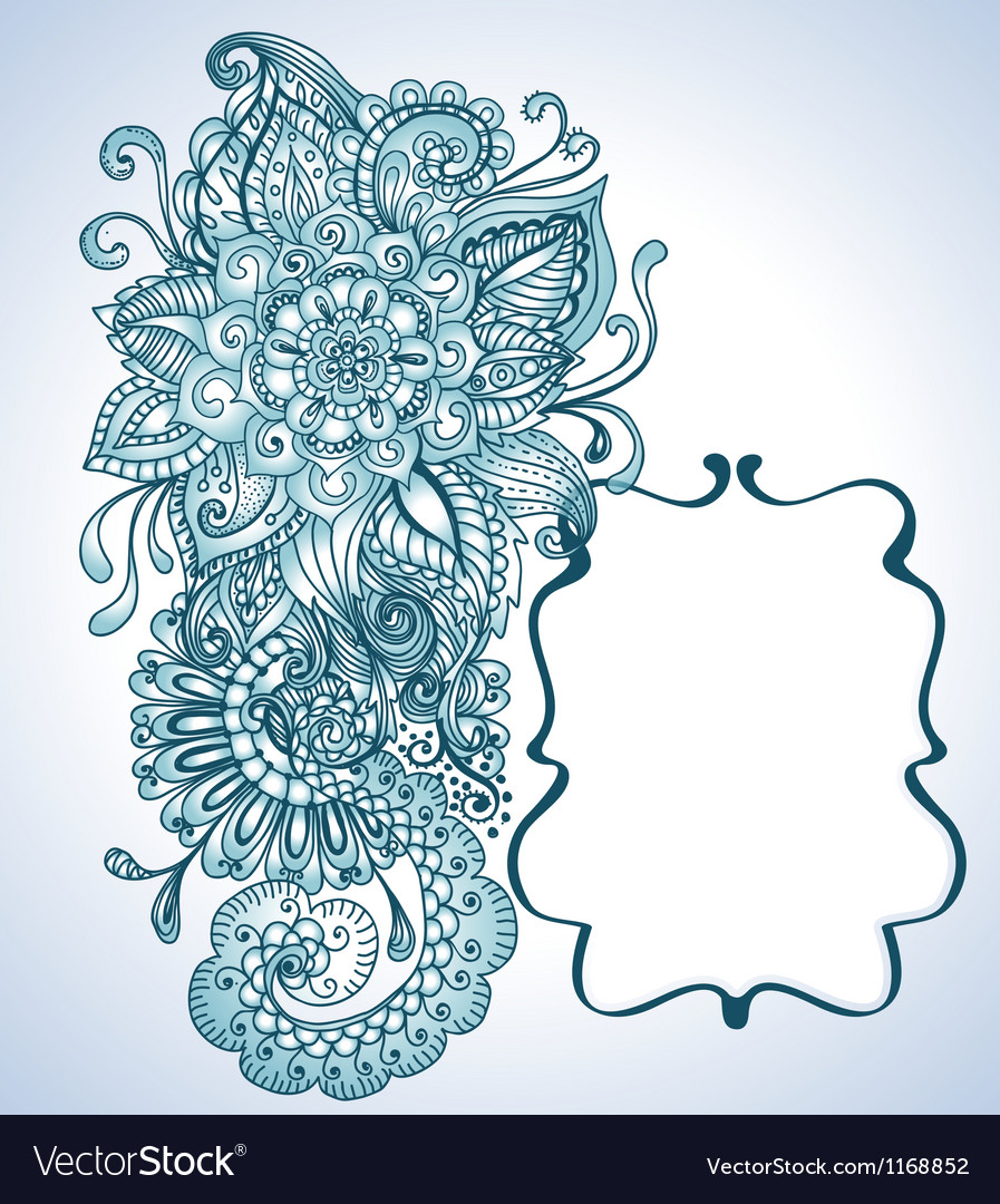 Floral orient ornament vector | Price: 1 Credit (USD $1)