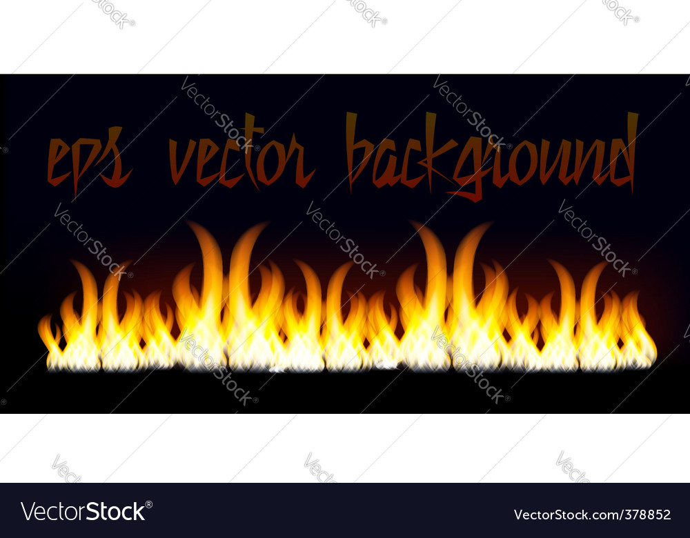 Lame fire vector background vector | Price: 1 Credit (USD $1)