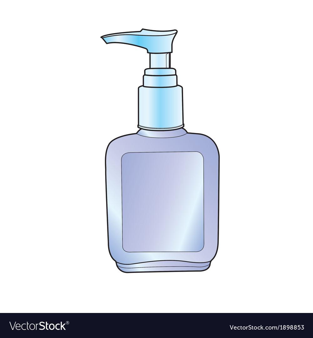 Lotion pump bottle vector | Price: 1 Credit (USD $1)