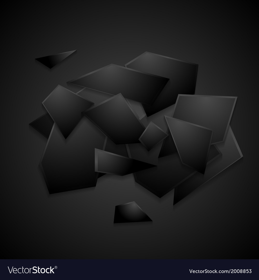 Modern black background vector | Price: 1 Credit (USD $1)