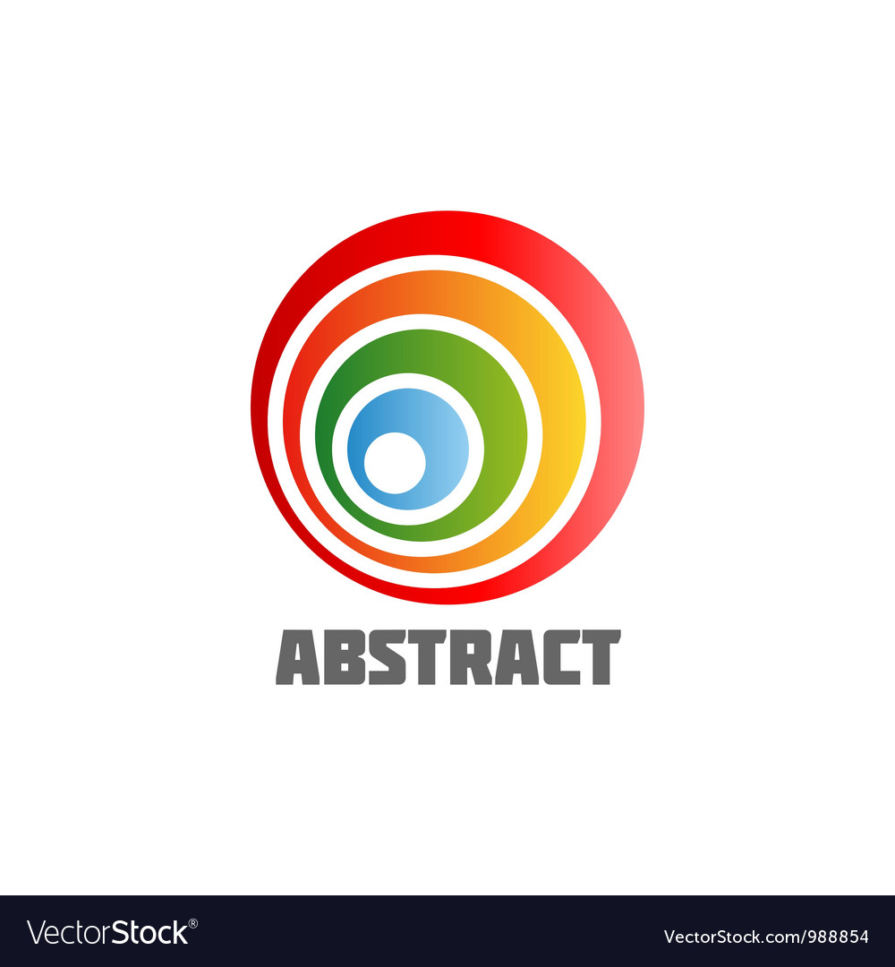 Abstract round design element vector | Price: 1 Credit (USD $1)