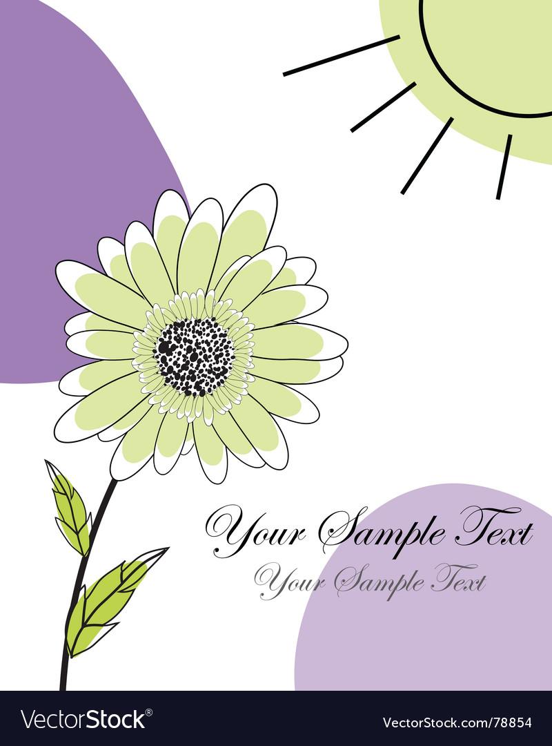 Greetings card vector | Price: 1 Credit (USD $1)