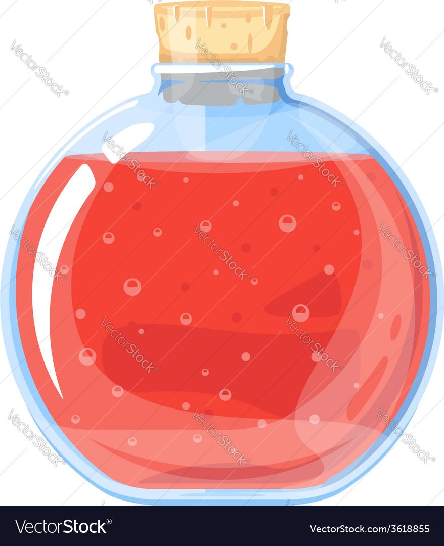 Big elixir bottle vector | Price: 1 Credit (USD $1)