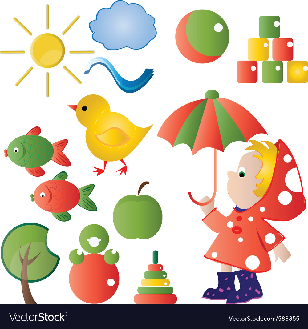 Children graphic vector | Price: 1 Credit (USD $1)
