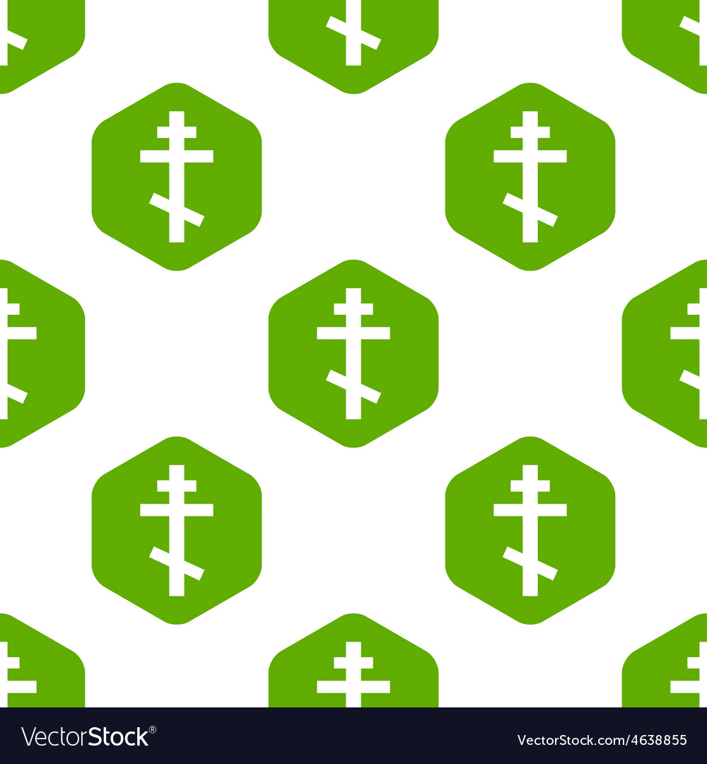 Orthodox cross pattern vector | Price: 1 Credit (USD $1)