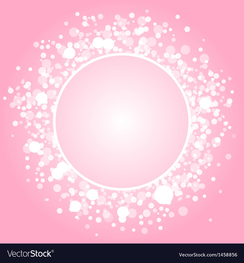Abstract pink frame vector   Price: 1 Credit (USD $1)