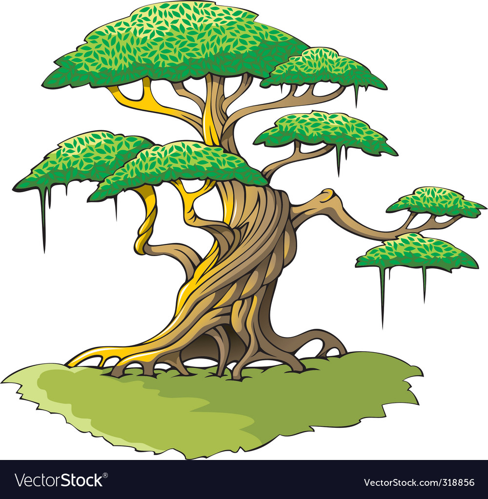 Magic tree vector | Price: 3 Credit (USD $3)